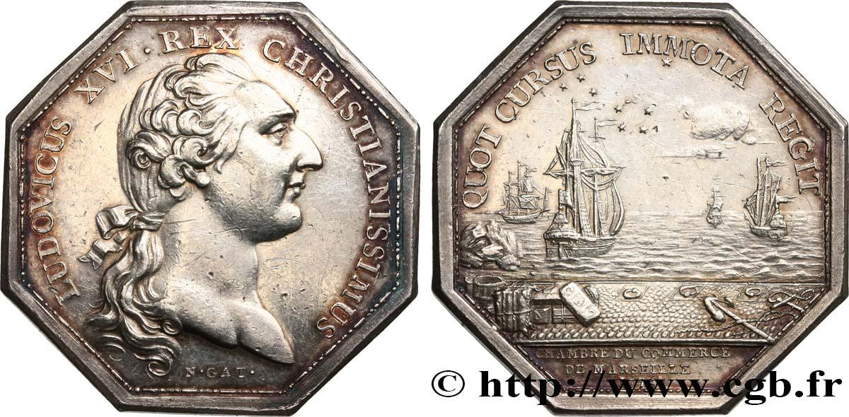 Chambres de commerce chambre de commerce de marseille louis xvi 1775 fjt 530285 jetons - Chambre des commerce marseille ...