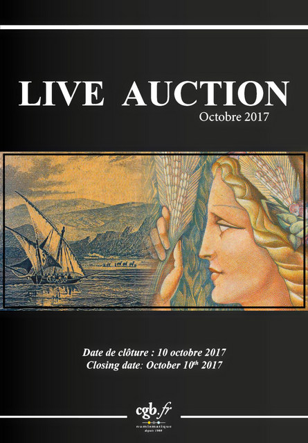 Live Auction Billets Octobre 2017 CORNU Joël, DESSAL Jean-Marc, VANDERVINCK Claire