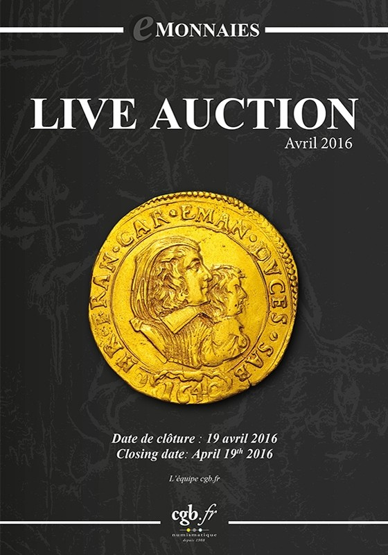 Live Auction - Avril 2016 CLAIRAND Arnaud, COMPAROT Laurent, CORNU Joël, DESSERTINE Matthieu, PARISOT Nicolas, SCHMITT Laurent, VOITEL Laurent