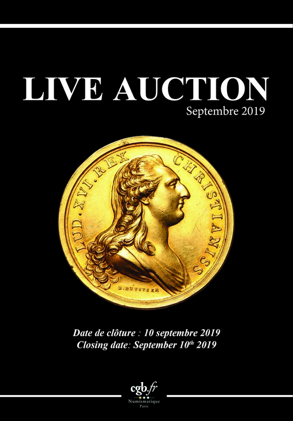 Live Auction - Septembre 2019 CLAIRAND Arnaud, COMPAROT Laurent, CORNU Joël, DESSERTINE Matthieu, PARISOT Nicolas, SCHMITT Laurent, VOITEL Laurent