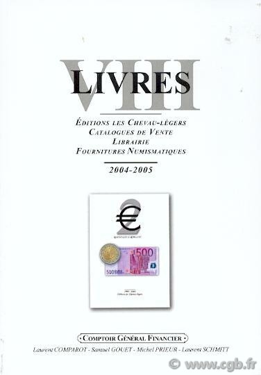 LIVRES VIII COMPAROT Laurent