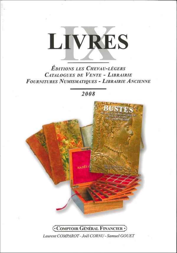 LIVRES IX COMPAROT Laurent