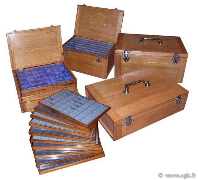 valise pour 10 m dailliers en bois 4 plateaux fbois10 librairie. Black Bedroom Furniture Sets. Home Design Ideas