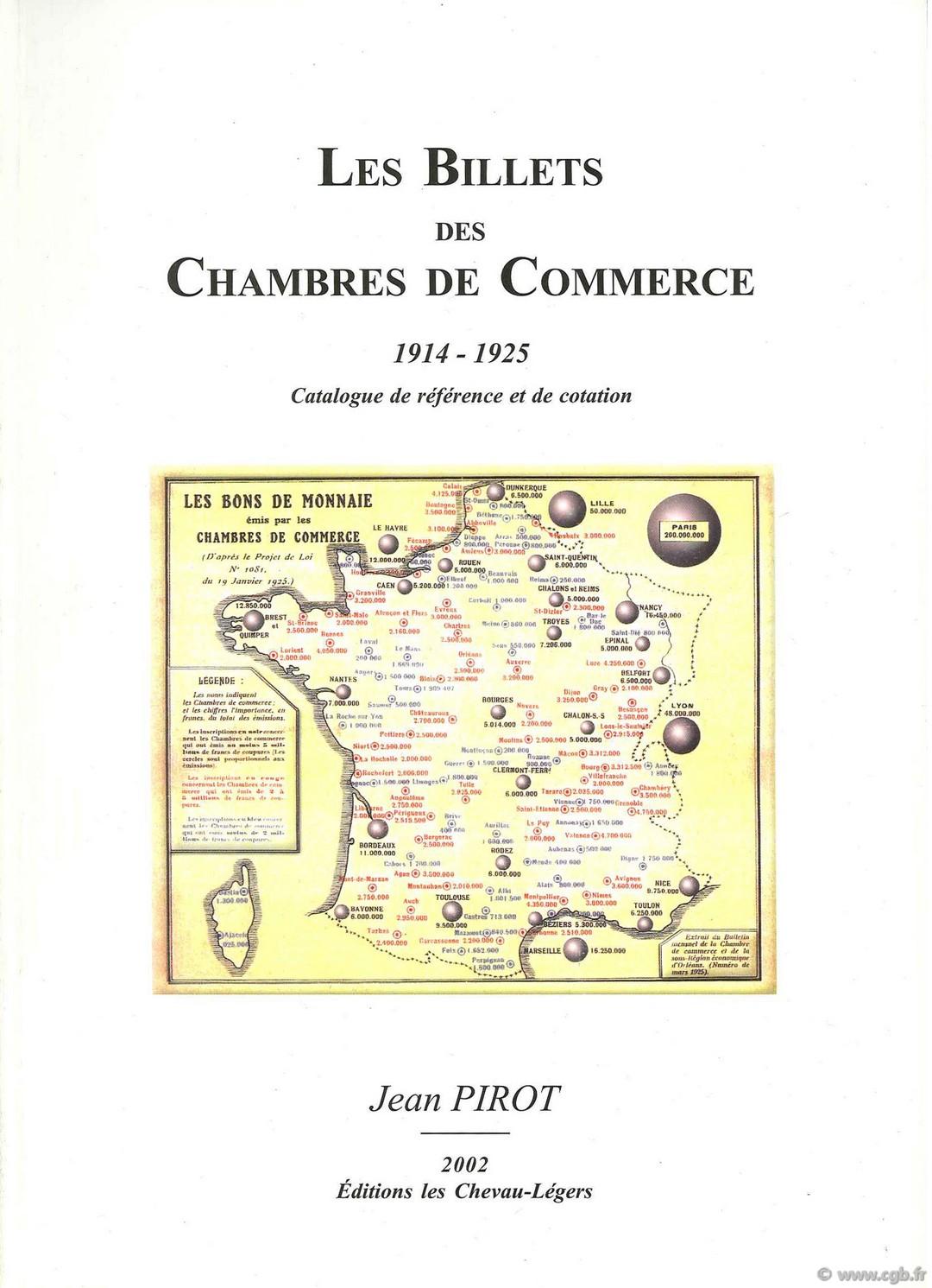 Les billets des chambres de commerce 1914 1925 pirot jean for Chambre de commerce skikda