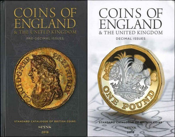 Coins of England and the United Kingdom, 53rd edition - 2018 sous la direction de Emma Howard