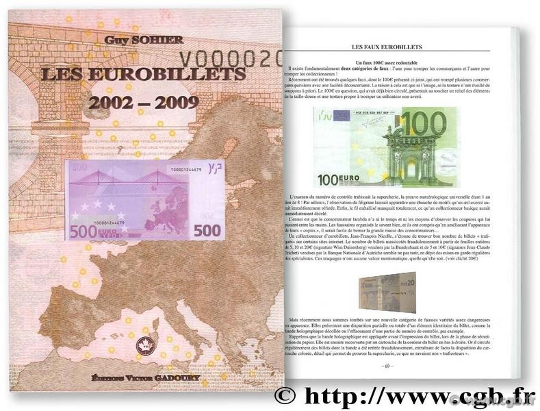Les eurobillets 2002-2009 SOHIER Guy