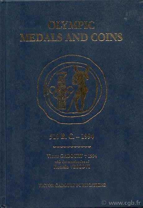 Olympic Medals and Coins GADOURY Victor, VESCOVI Romolo