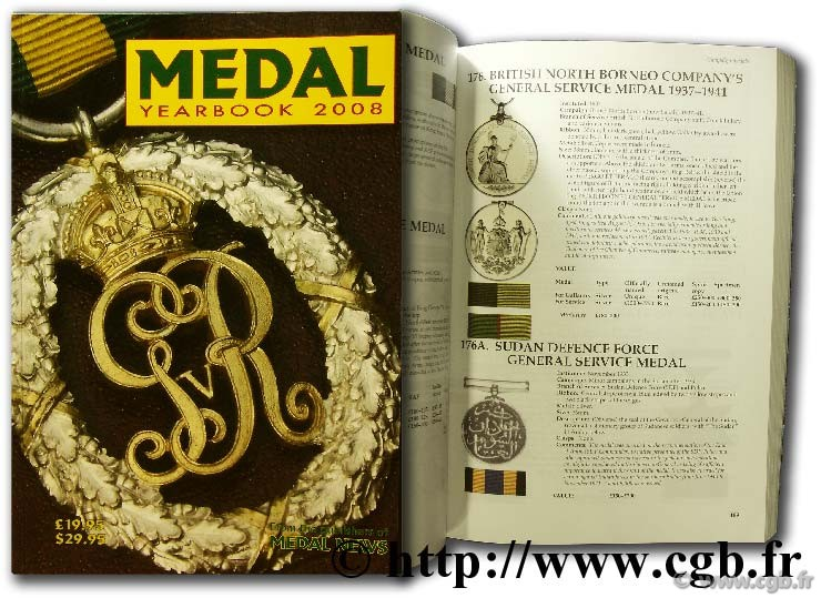 Medals Yearbook 2008 Collectif