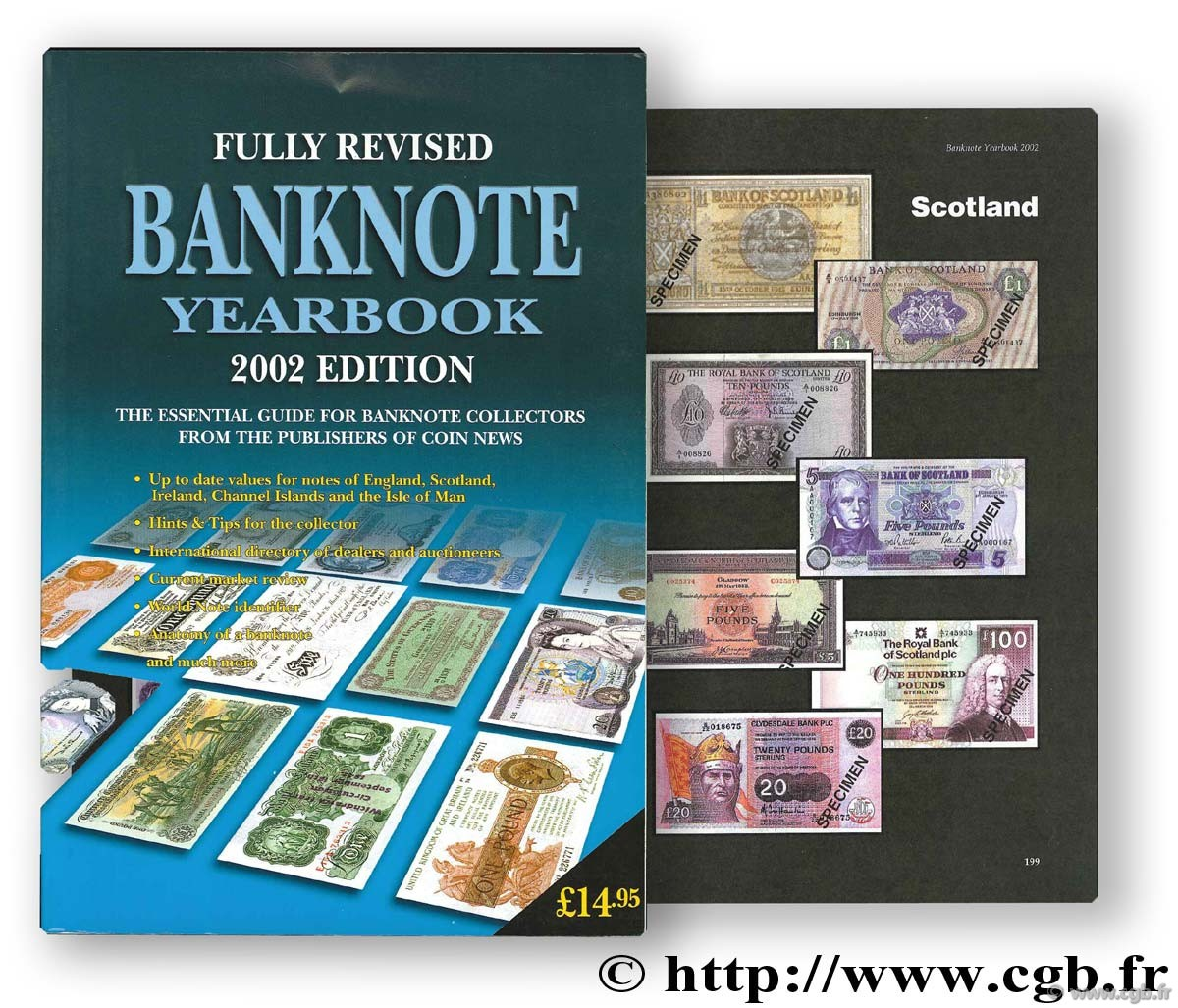 Banknote yearbook 2002. England, Scotland, Ireland, Channel Islands and the Isle of Man