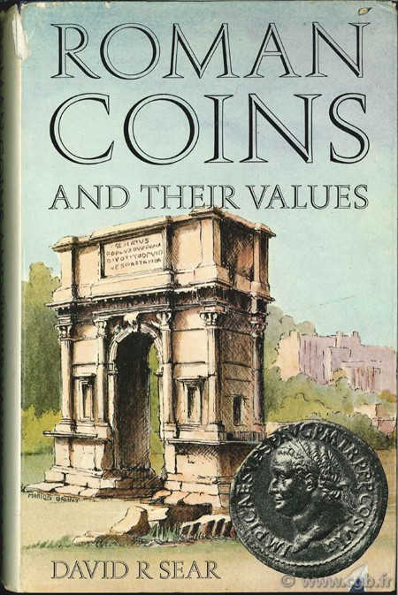 Roman coins and their values, Revised Edition, 1970 SEAR D.-R.