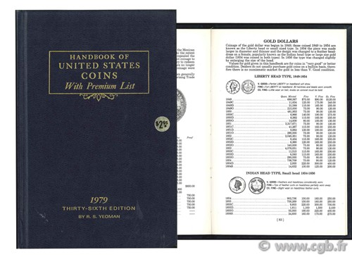 Handbook of united states coins  YEOMAN R.-S.