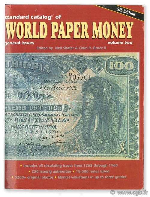 World paper money Vol. II general issues, 1650 - 1960  PICK A.