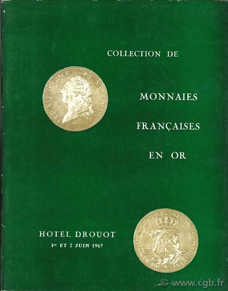 Collection de monnaies françaises en or LAURIN G.,