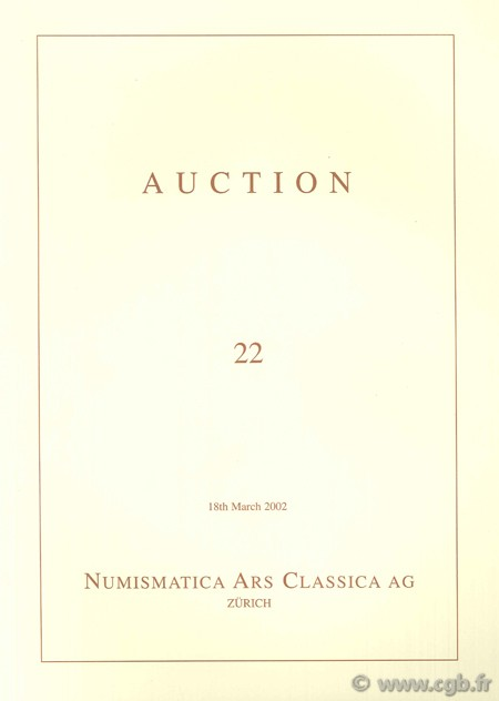 Numismatic Ars Classica AG, Auction 22, 18th March 2002