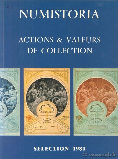 Actions & valeurs de collection BAYLE F.
