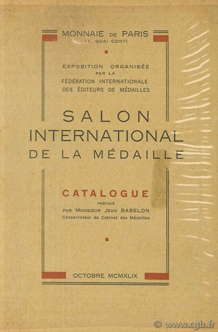 Salon international de la médaille