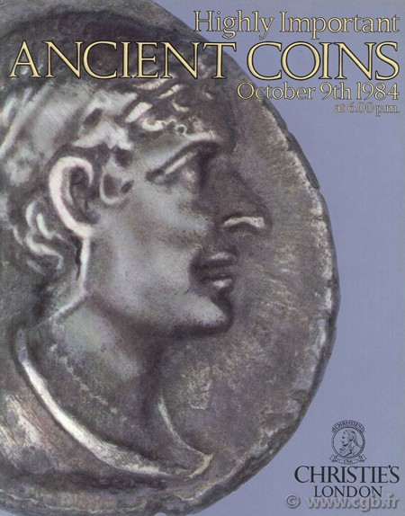 Highly Important Ancient coins, October 9th 1984