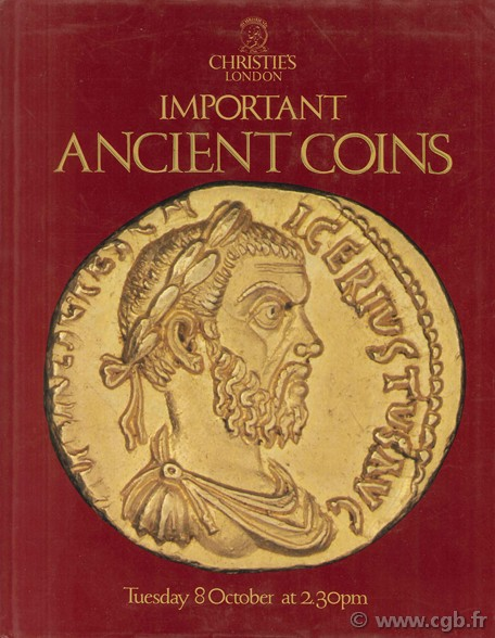 Important Ancient Coins, Tuesday 8 October