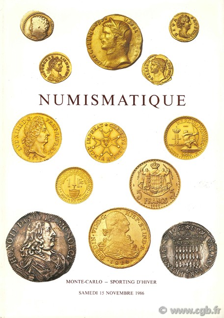 Numismatique VINCHON J.