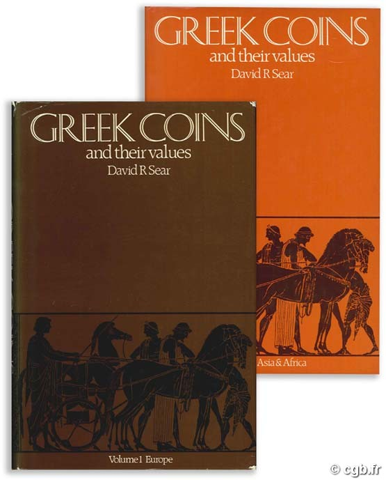 Greek coins and their values, vol. I : Europe ; Vol. II : Asia and Africa SEAR D.-R.