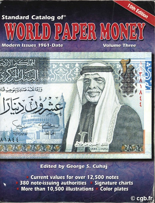World Paper Money, Modern Issues 1961-Date - vol.3, 10th Edition G.S. CUHAJ