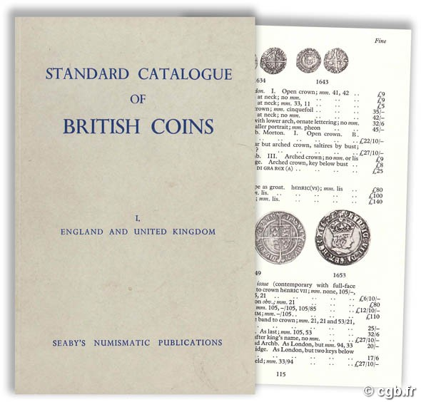 Standard catalogue of british coins - I. England and United Kingdom Seaby