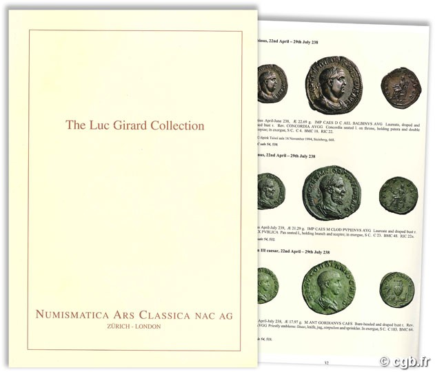 The Luc Girard Collection of Roman sestertii Numismatica Ars Classica