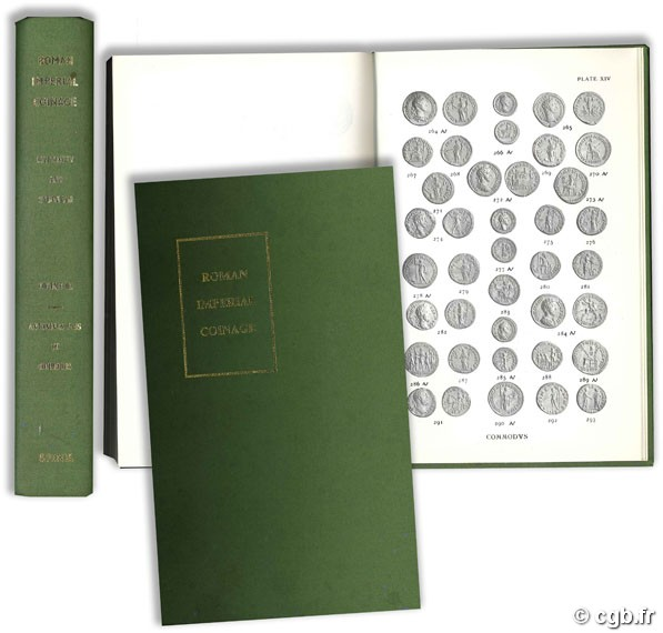 The Roman Imperial Coinage vol. III. Antoninus Pius to Commodus MATTINGLY H., SYDENHAM E.-A.