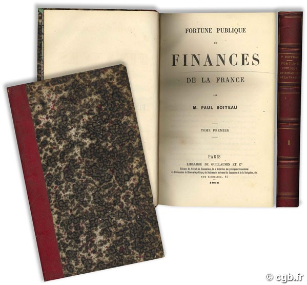 Fortune publique et finances de la France - tome premier BOITEAU P.