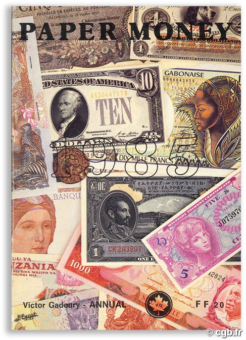 Paper money 1985 GADOURY V.