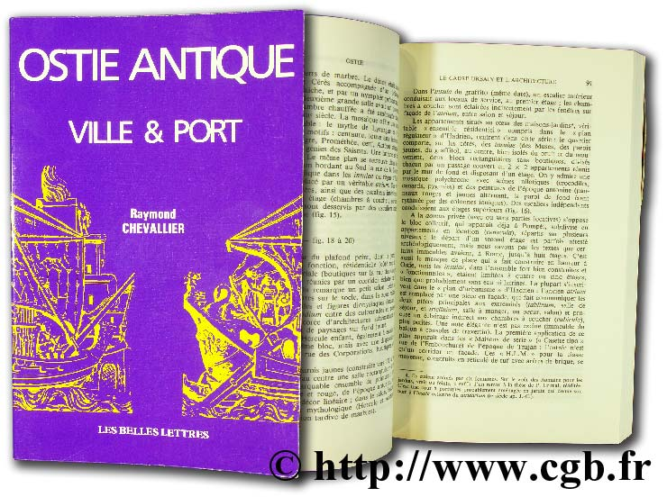Ostie antique - ville & port CHEVALLIER R.