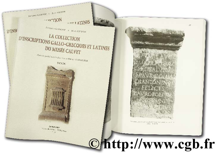 La collection d inscriptions gallo-grecques et latines GASCOU J., GUYON J.