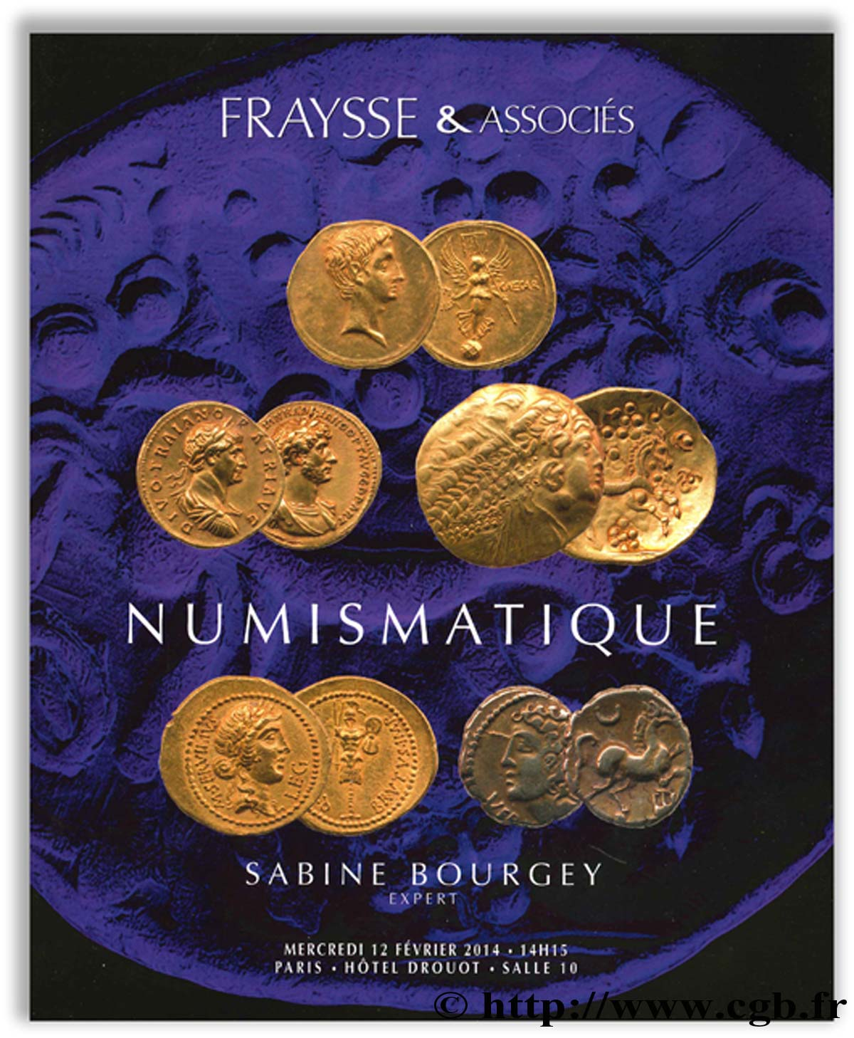 Numismatique - Collection du  Docteur M. BOURGEY S.