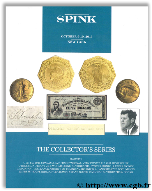 The collector s series sale SPINK