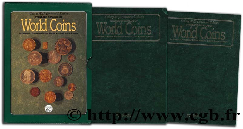 Standard Catalog of World Coins - Deluxe ANA Centennial Edition KRAUSE L., MISHLER C.