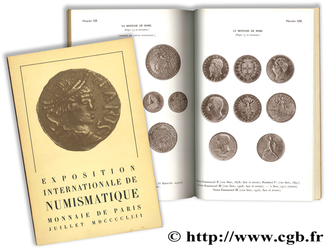Exposition internationale de numismatique Collectif