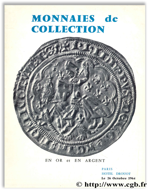 Monnaies de collection en or et en argent, 1964 VINCHON J.