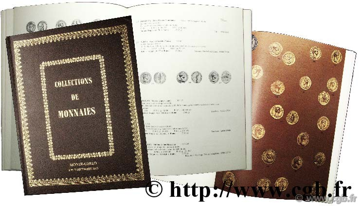 Collection de monnaies, monnaies grecques, romaines, etc VINCHON J.
