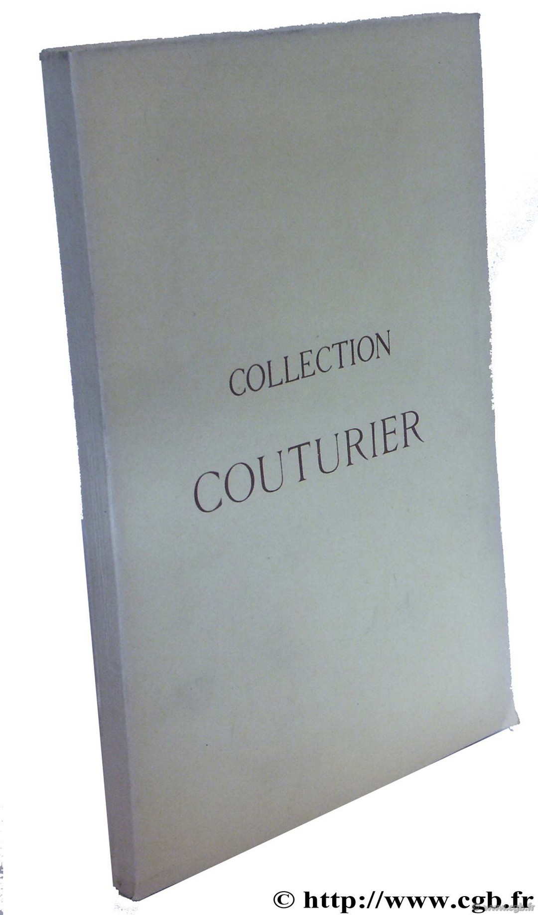 Collection Couturier  CIANI L., PAGE A.