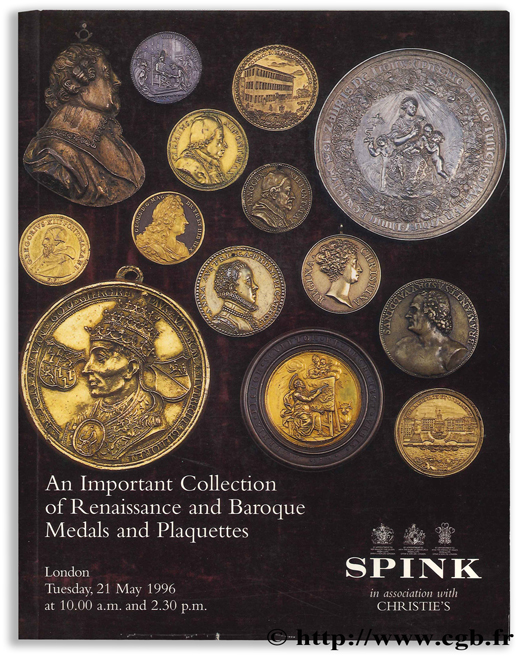 An Important Collection of Renaissance and Baroque Medals and Plaquettes