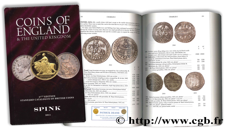 Coins of England and the United Kingdom - 47th Edition - Standard Catalogue of British Coins SKINGLEY P. (dir.)
