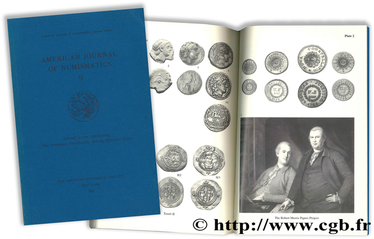 American Journal of Numismatics 9 - Second Series