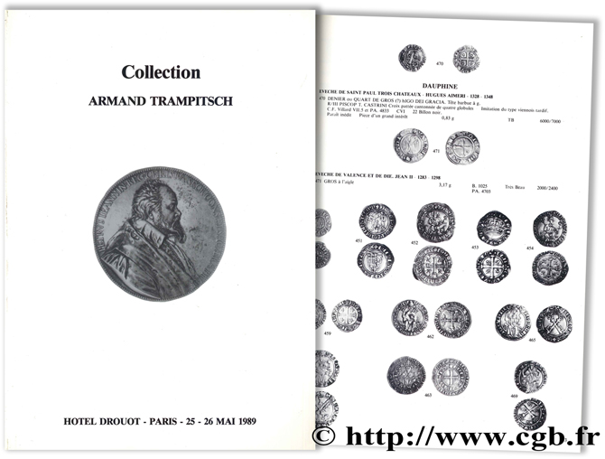 Collection Armand Trampitsch (3e partie) et à divers amateurs CELLARD Y., RASSION J.