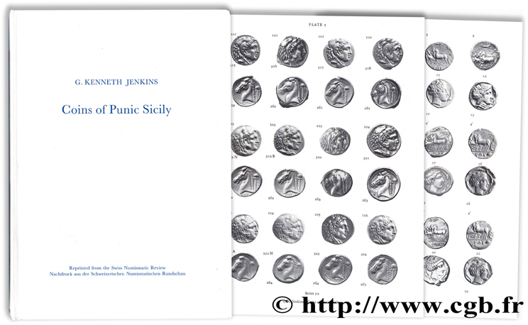 Coins of Punic Sicily JENKINS G.-J.