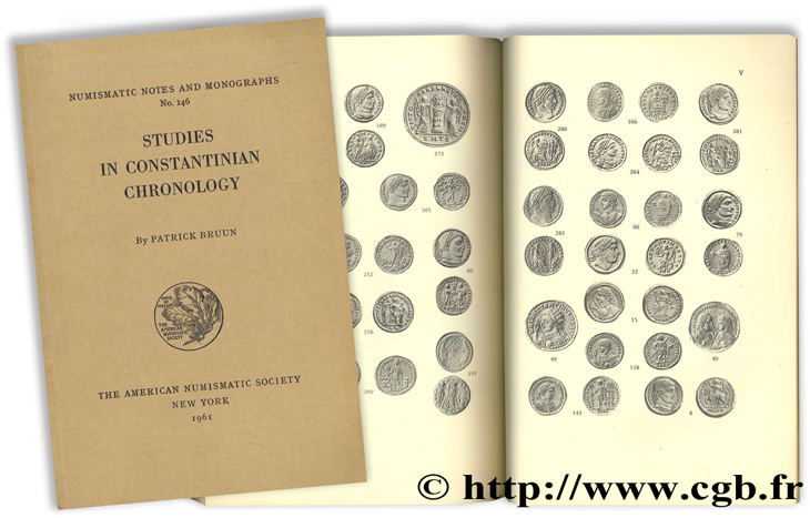 Studies in Constantinian Chronology BRUUN P.
