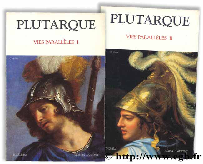 Plutarque - Vies parallèles I, II FLACELIERE R., CHAMBRY E. (trad.), SIRINELLI J.