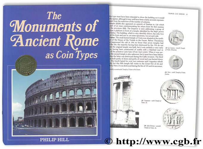 The Monuments of Ancient Rome as Coin Types HILL P.-V.