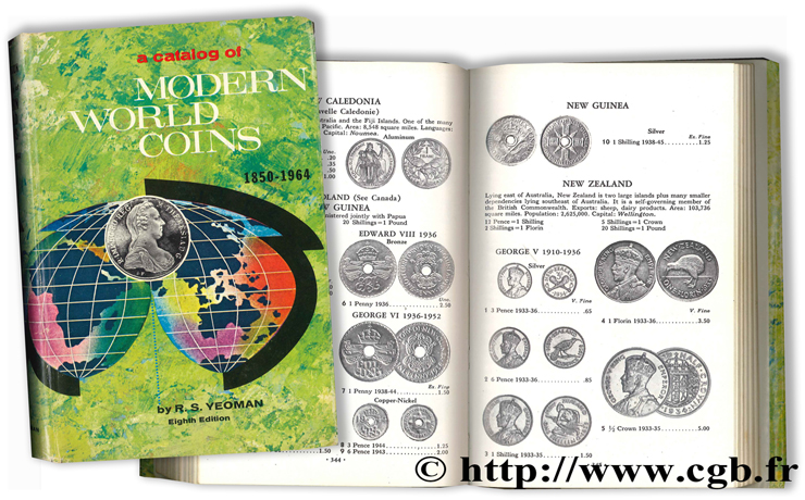 A catalog of modern World Coins 1850-1964 - Eighth Edition YEOMAN R.-S.
