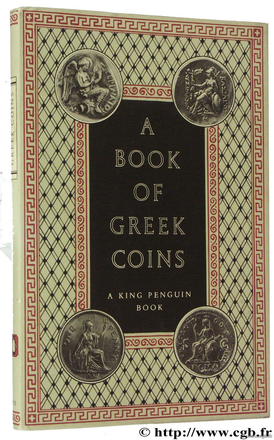 A book of greek coins SELTMAN C.