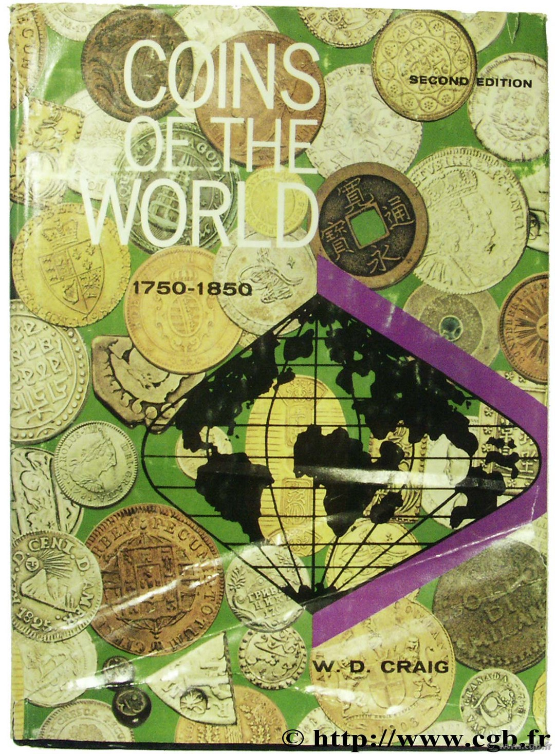 Coins of the World 1750-1850 2nd edition CRAIG W.-D.